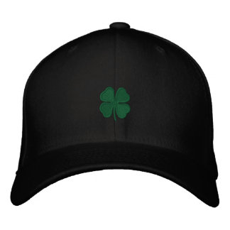 St. Patrick's Day Embroidered Clover Men's Cap Embroidered Hat