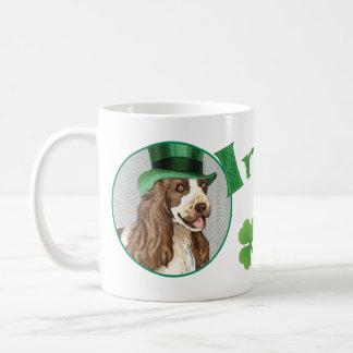 St. Patrick's Day English Cocker Coffee Mug