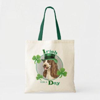 St. Patrick's Day English Cocker Tote Bag