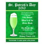 St. Patrick's Day Event Invitation Flyer