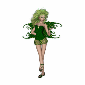 St. Patrick's Day Fairy 5 Standing Photo Sculpture