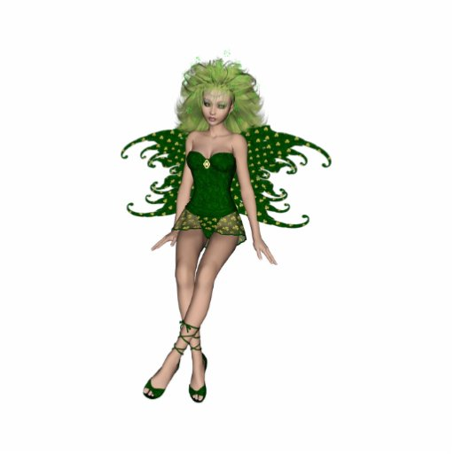 St. Patrick's Day Fairy 6 Photo Cutout