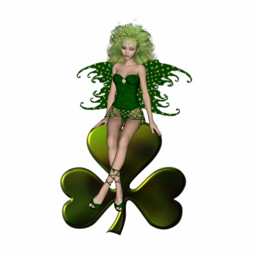 St. Patrick's Day Fairy 7 Photo Sculptures