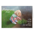 St. Patrick's Day - Finding a Great Friend Card