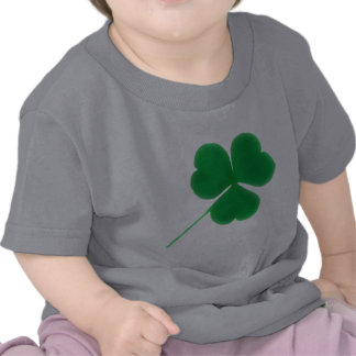 St. Patrick's Day for Babies Irish Green Clover T Shirt