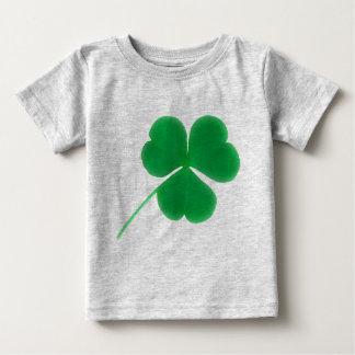 St. Patrick's Day for Babies Irish Green Clover T-shirt