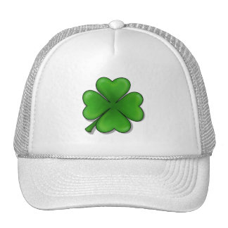 St. Patrick's Day, Four Leaf Clover Trucker Hat