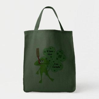 St. Patrick's Day Frog Bag