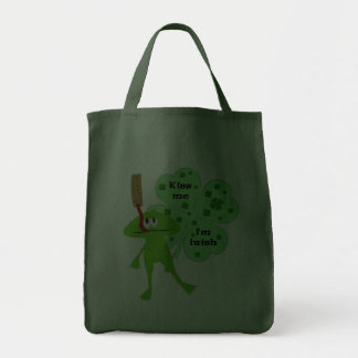 St. Patrick's Day Frog Bag