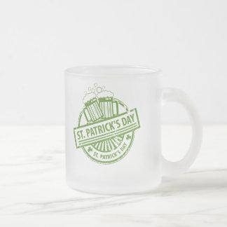 St.Patrick's Day Frost Mug