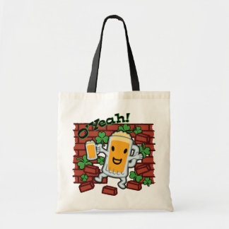 St Patrick's Day Funny Beer Man Bags