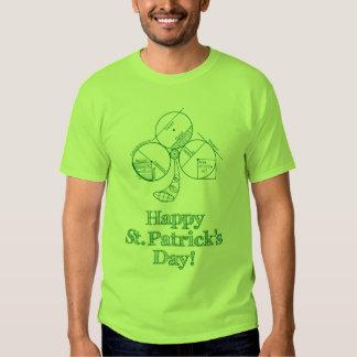 St Patrick's Day Geometry Tshirt