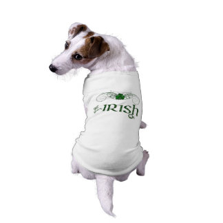 "St. Patrick's Day ""Get Your Irish On""-Dog Sweater Shirt"