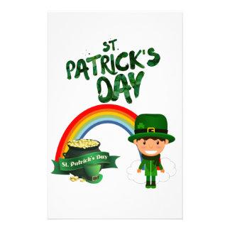St Patrick's Day gifts Stationery