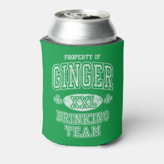 St Patrick's Day Ginger Drinking Team Can Cooler