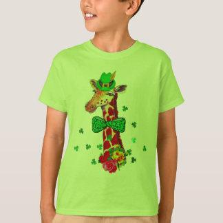 St. Patrick's Day Giraffe T-Shirt