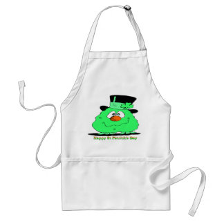 St Patrick's Day Gnome Standard Apron