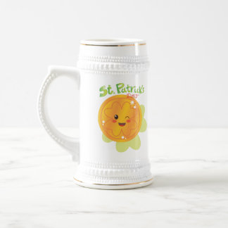 St. Patrick's Day Gold Coin Beer Stein