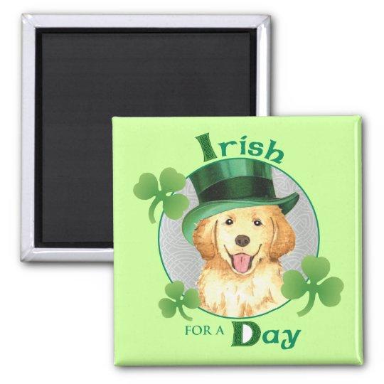 St. Patrick's Day Golden Magnet