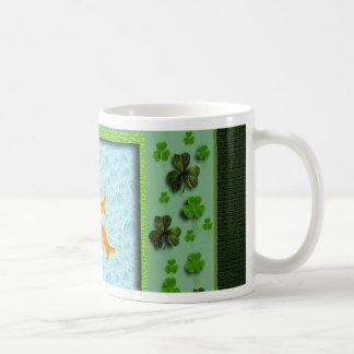 St. Patrick's Day, Goldfish Humor Basic White Mug