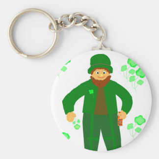St.Patrick's Day, Green Leprechaun Keychain
