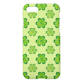 St. Patrick's Day Green Shamrocks Lucky Clovers iPhone 8/7 Case