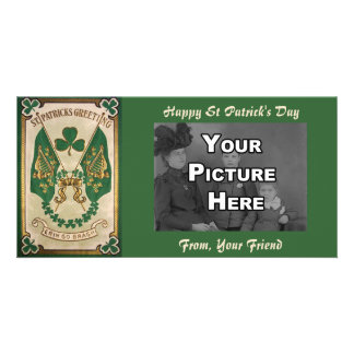 St. Patricks Day Greeting  Photo Card