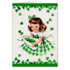 St. Patrick's Day Greetings. Customisable Card