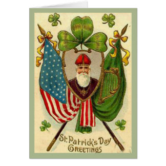 St. Patrick's Day Greetings Greeting Card