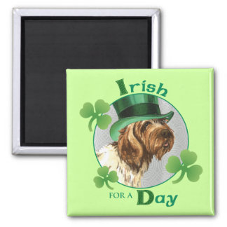 St. Patrick's Day Griffon Magnet