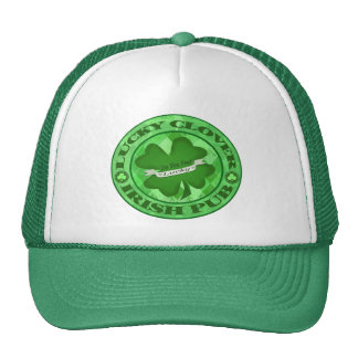 St. Patrick's Day Grungy Pub Trucker Hat