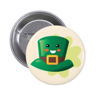 St. Patrick's Day Happy Hat 6 Cm Round Badge