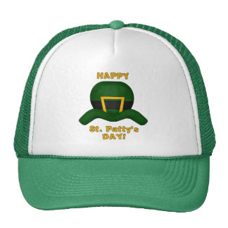 St. Patrick's Day ~ Happy St. Patty's Day Cap Hat