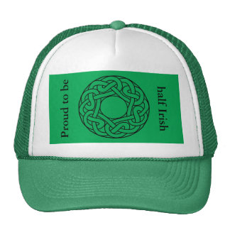 St Patrick's Day Hat with Celtic Knot