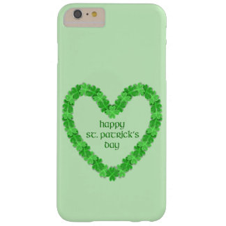 St Patrick's Day Heart Barely There iPhone 6 Plus Case