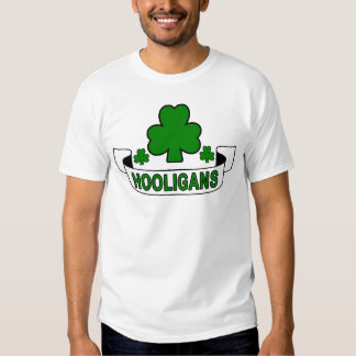 St Patrick's Day Hooligans.png T-shirts