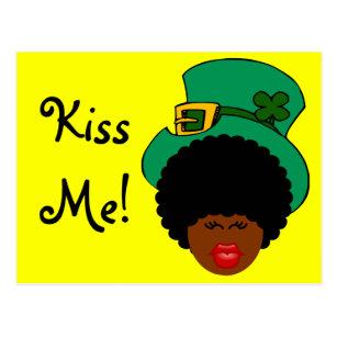 6d9c4f12bb1 St. Patrick s Day Humor  Kiss Me. I m Black Irish!