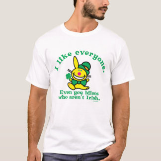 St Patrick's Day | I Like Everyone T-Shirt