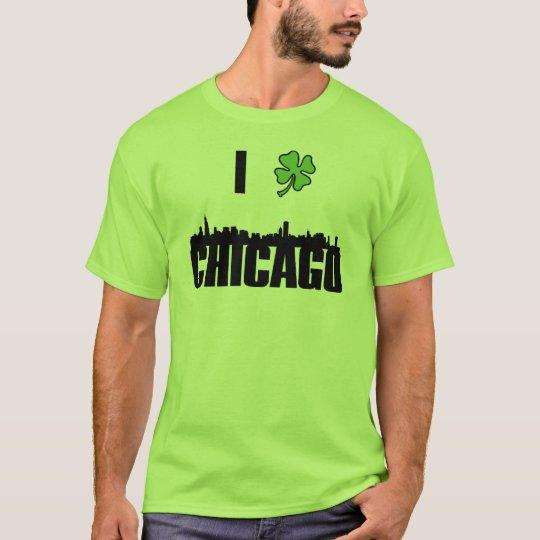 St Patricks Day I Love Chicago T-Shirt