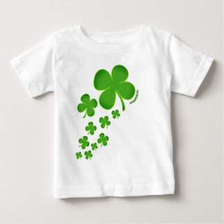 St. Patrick's Day infant tshirt clover lucky