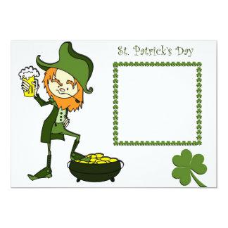 St. Patrick's day invitation card
