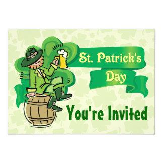 St. Patrick's Day Invitations! 13 Cm X 18 Cm Invitation Card
