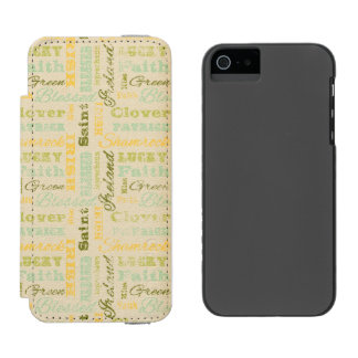 St. Patrick's Day iPhone Wallet Case Incipio Watson™ iPhone 5 Wallet Case