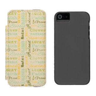 St. Patrick's Day iPhone Wallet Case Incipio Watson™ iPhone 5 Wallet Case