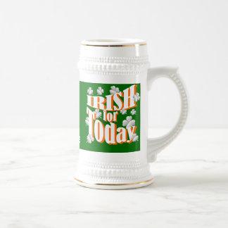 St Patrick's day Irish Beer Stein