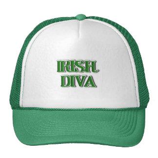St. Patrick's Day Irish Diva Cap