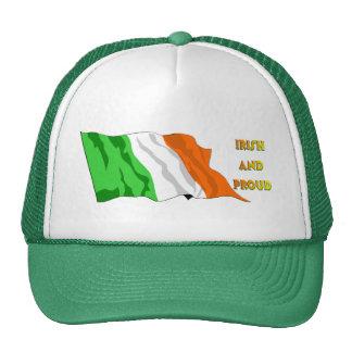 St Patrick's Day Irish Flag Cap