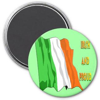 St Patrick's Day Irish Flag Fridge Magnet