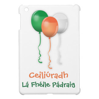 ST PATRICKS DAY, IRISH GAELIC iPAD cover