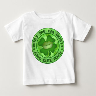 St. Patrick's Day Irish Kiss Me T-Shirt / Bodysuit
